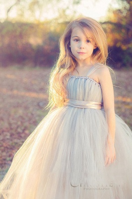 Lovely Sleeveless Purple Tulle Princess Flower Girl Dress Princess BA3422_6