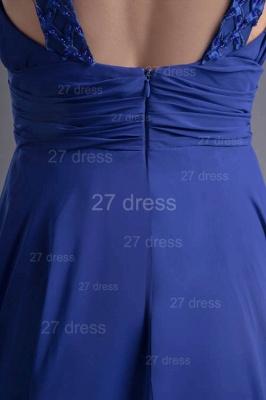 Sexy Chiffon A-line Lace Evening Dress UK Zipper Floor-length_4