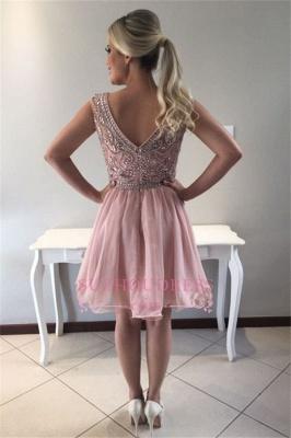 Crystal short prom Dress UK, homecoming Dress UK_1