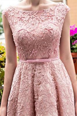 Gorgeous Beadings Lace A-Line Lace-up Tea-Length Homecoming Dress UKes UK_4