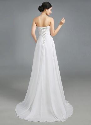 Luxury Sweetheart Crystals Prom Dress UK Long Chiffon Lace-Up_3