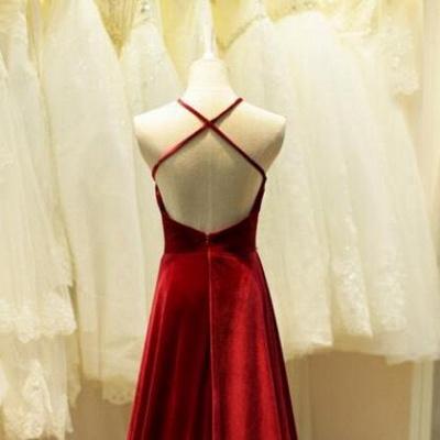 Sexy Sleeveless Beadings Halter Long Evening Dress UK_2