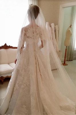 Pretty Sleeveless Appliques Wedding Dress Ball Gown Tulle Sleeveless_5
