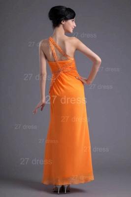 Elegant Chiffon Front Split Evening Dress UK Mermaid One Shoulder_4