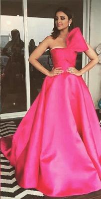 Charming Fuchsia Sleeveless Princess Prom Dress UK_1