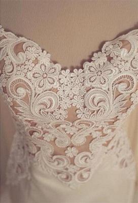 Gorgeous Lace Sexy Mermaid Wedding Dresses UK Tulle Sweetheart_4
