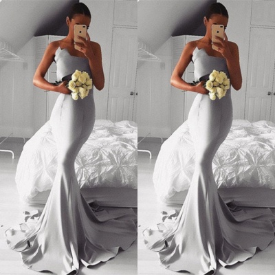 Sexy 2019 Evening Dress UK Online   Sexy Mermaid Prom Dress UK_3
