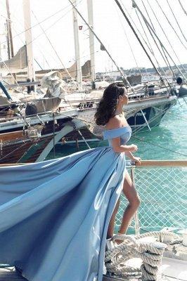 Gorgeous Off-the-Shoulder Mermaid Evening Dress UK Long With Slit BA6777_3