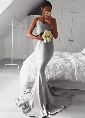 Sexy 2019 Evening Dress UK Online   Sexy Mermaid Prom Dress UK_1