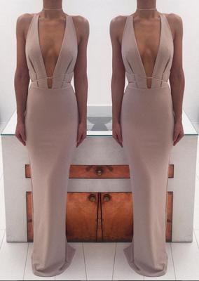 Sexy Deep V-Neck Long Evening Dress UKes UK Floor Length nr001_3