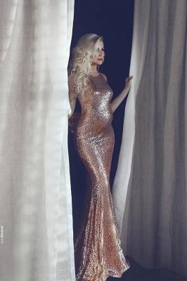 Sexy Halter Sequins Maternity Dress UK Long Mermaid Prom Dress UK BA9081_1