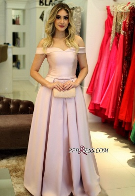 Pink lace-up prom Dress UK,evening gowns_2