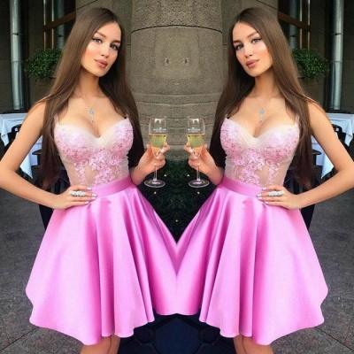 Luxury Sweetheart Straps Short Prom Dress UK | Homecoming Dress UK On Sale_3