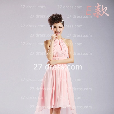 Bridesmaid Dress UKes UK,knee-length Prom Gown A-line 12 Styles Chiffon Ruffles_11