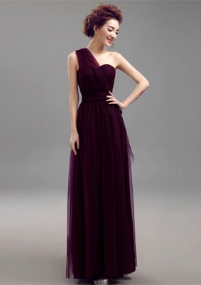 Sexy Convertible Sweetheart Bridesmaid Dress UKes UK Long Chiffon On Sale_7