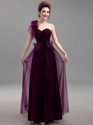 Sexy Convertible Sweetheart Bridesmaid Dress UKes UK Long Chiffon On Sale_5