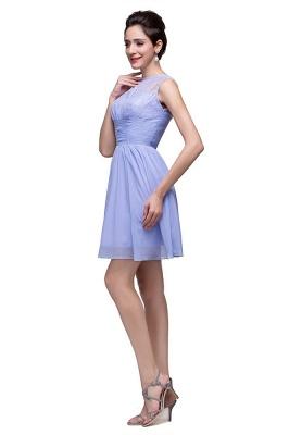 Lovely Sleeveless SHort Homecoming Dress UK lace_4
