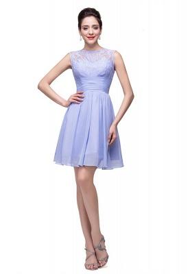 Lovely Sleeveless SHort Homecoming Dress UK lace_2